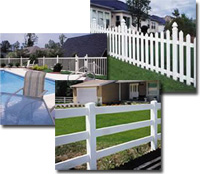 various fence types